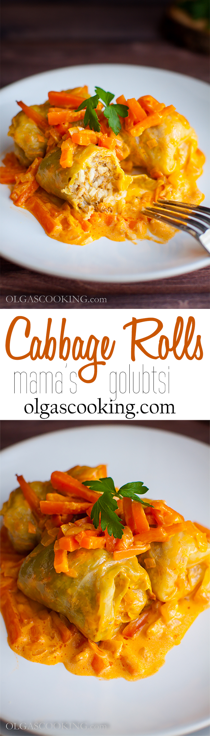 Cabbage Rolls...soft, juicy, perfect, addictive!
