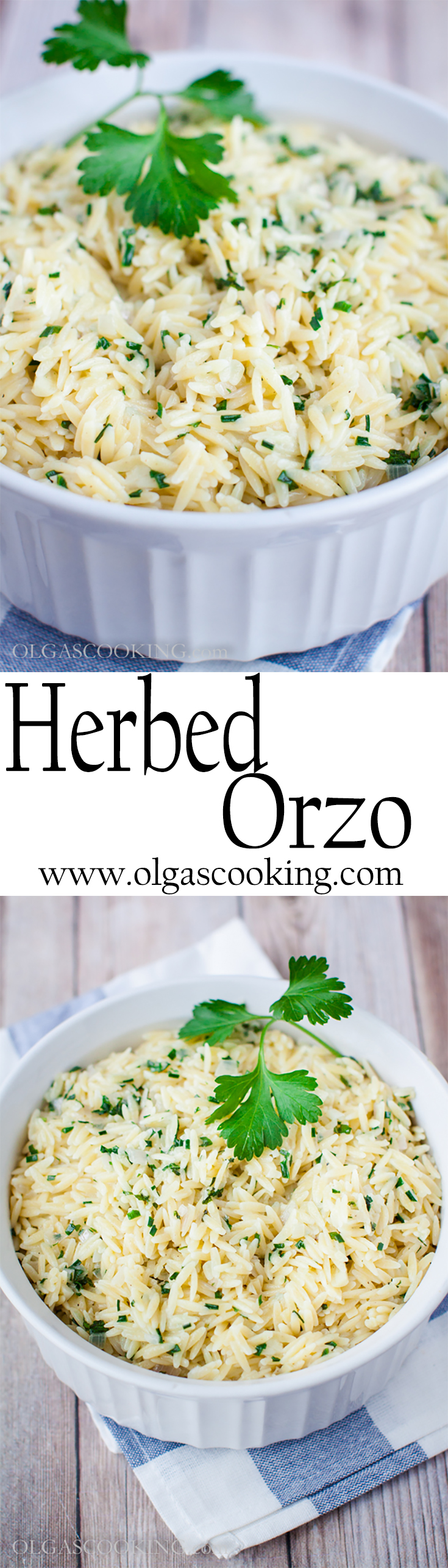 Herbed Orzo