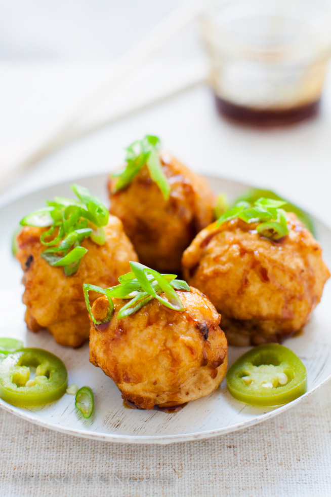 Deep Fried Stuffed Mushrooms