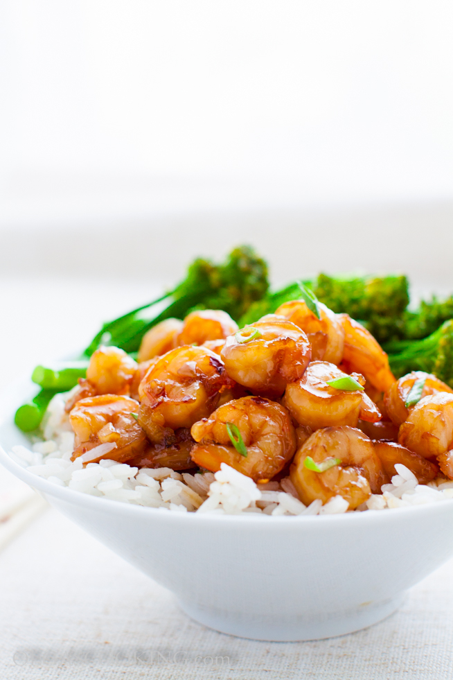 Sweet and Spicy Shrimp