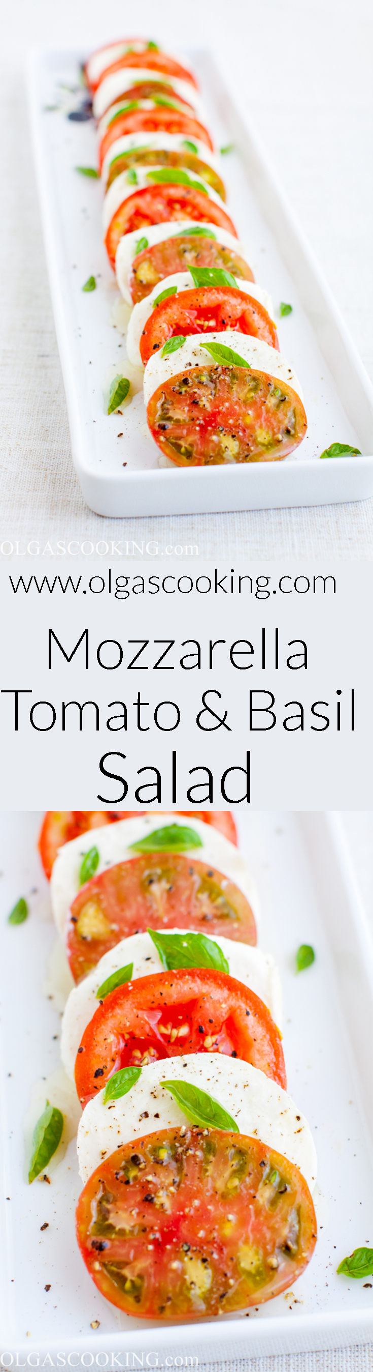 Mozzarella, Tomato and Basil Salad