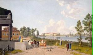 Аптекарский остров в 19 веке.