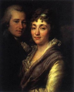 1367490074 1790-e-portret-vasiliya-ivanovicha-mitrofanova-i-i-ego-zheny-marii-alekseevny-mitrofanovoy