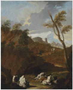 Монахи, изучающие местность