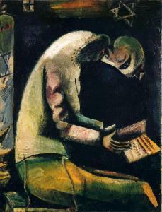 evrei za molitvoy