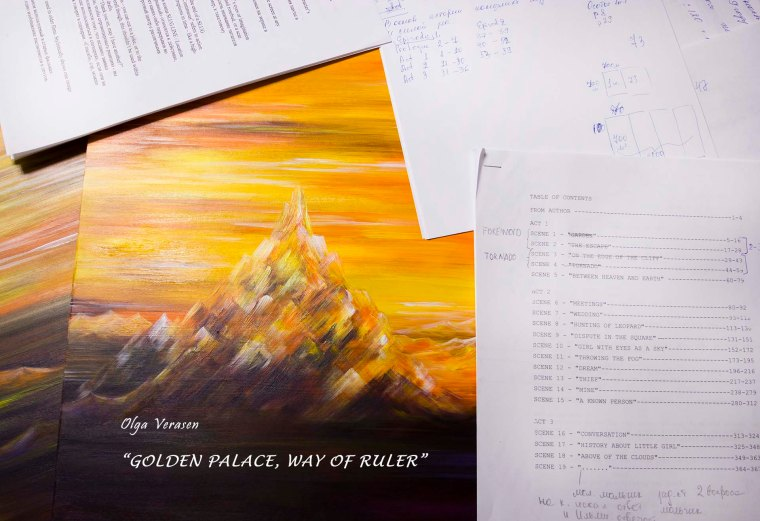"""In March my new book """"Golden Palace. Way of Ruler"""" will be published. Welcome!"""