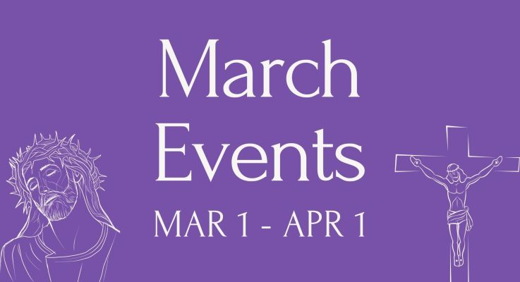 March Events 2021