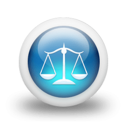 Legal Scales Icon