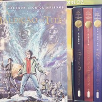 Resenha: Percy Jackson & Os Olimpianos #3 - A Maldição do Titã - Graphic Novel - Rick Riordan