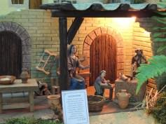 Jesus as a young carpenter