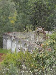 Nora with aqueduct