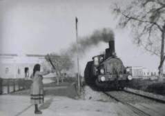 railway track outside library (facebook site)