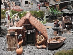 Traditional Algarvian fishing hut