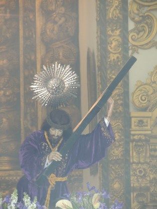 Image of Jesus still in the church