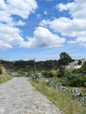 Climb up from the Guadiana