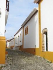 Cobbled narrow streets