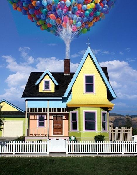 Rplica da casa do filme Up  Altas Aventuras est  venda em Utah