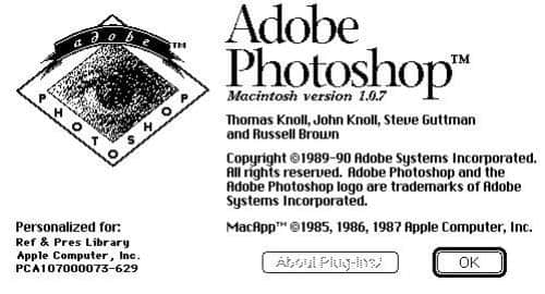 Adobe libera código do primeiro Photoshop para download