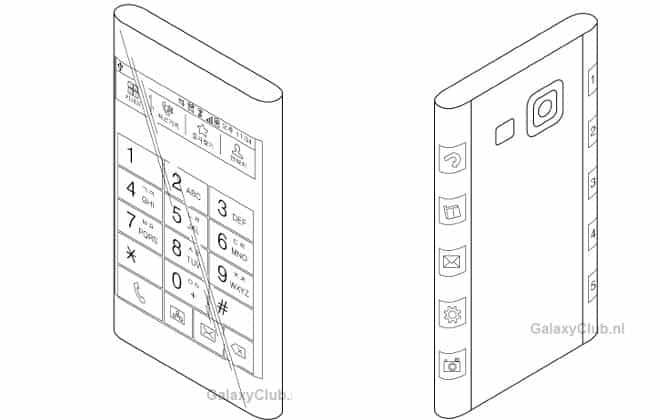 Samsung patenteia novo formato de smartphone com tela curva