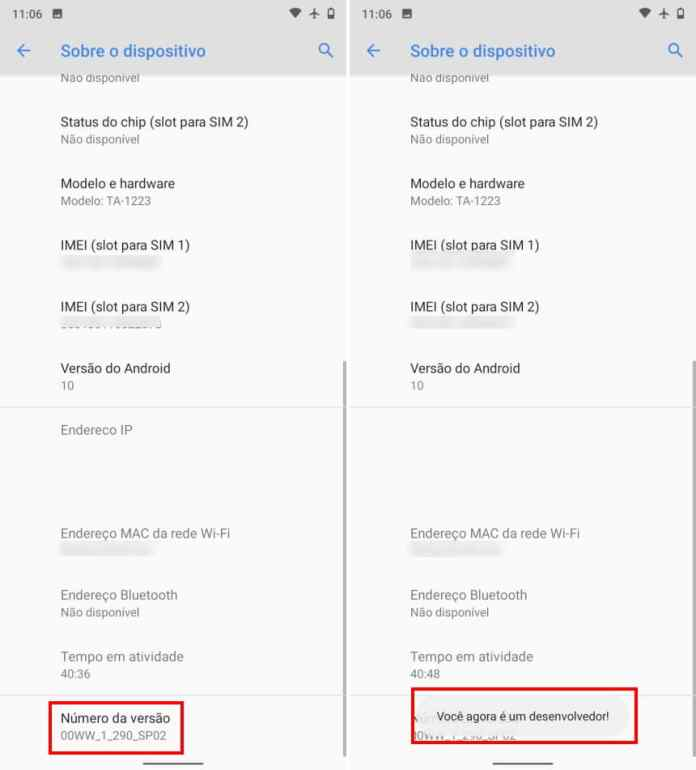 Como definir o nível dos aplicativos em espera no Android - Passo 2