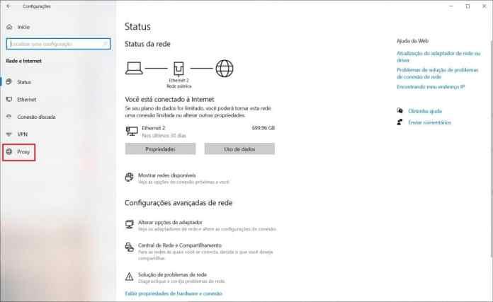 Como corrigir a configuração do Windows 10 que deixa o Edge lento - Passo 2