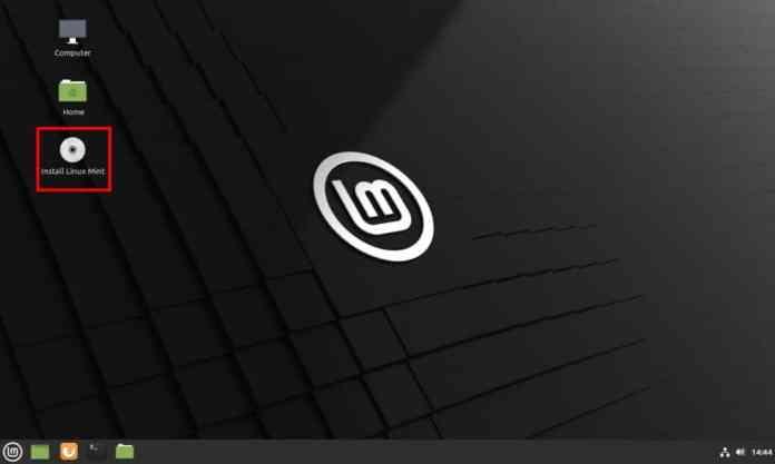 Como instalar o Linux Mint 20.1 no computador - Passo 3