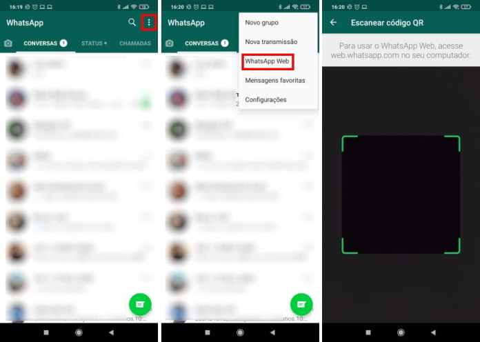 Como ativar a autenticação por biometria no WhatsApp Web - Passo 5