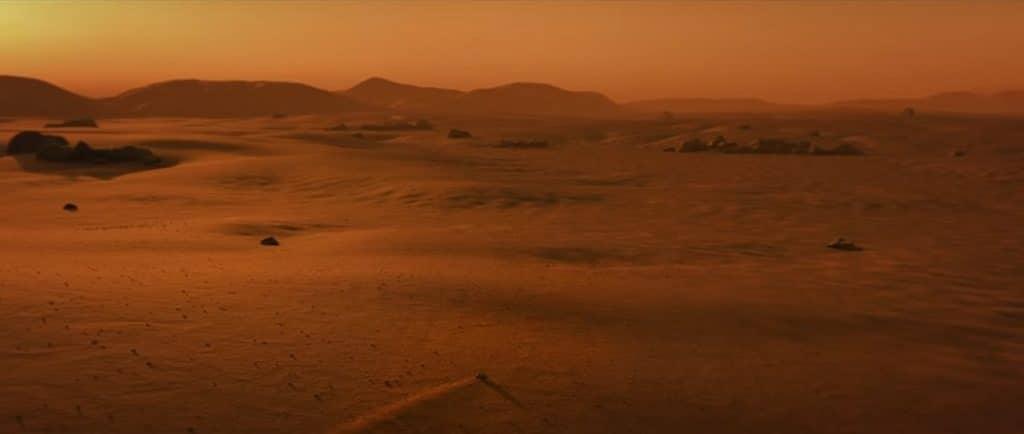 imagem de trecho de vídeo crítico à exploração de Marte, veiculado pelo grupo Fridays For Future (FFF), movimento fundado pela ativista sueca Greta Thumberg.
