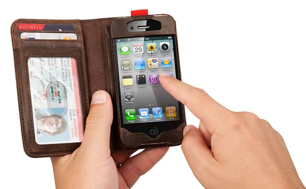 Capa para iPhone imita livro e ainda serve como carteira (2/2)