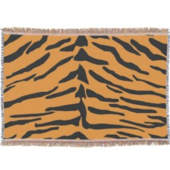 Tiger Print Sofa Set Where Are Catnapper Sofas Made Quotexoticskins Quot Skin Throw Blanket Olheiser Art