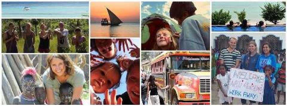 Viajar sem gastar por trabalho em serviços gerais