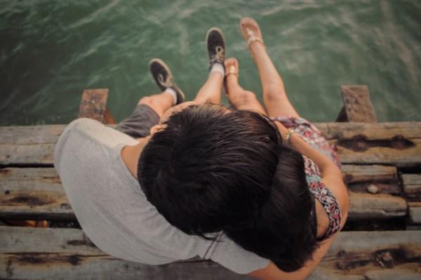 Viajar namorando relembrando da viagem