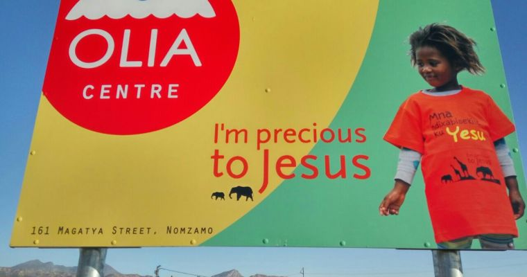 OLIA Centre – So they may hope in Christ