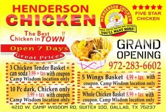 Henderson Chicken