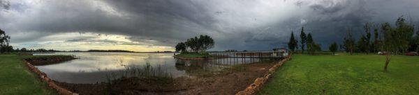 boskop dam, southern sky, south africa