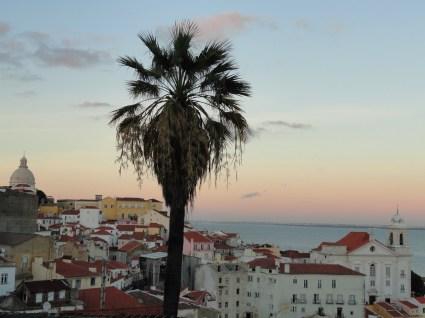 вид на Лиссабон с замка Св. Георгия