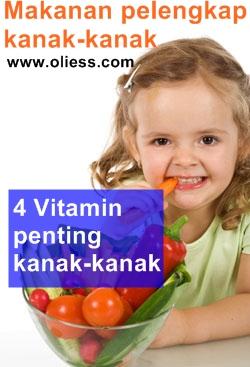 vitamin untuk kesihatan kanak-kanak