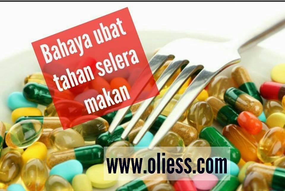 Bahaya ubat kawal selera makan