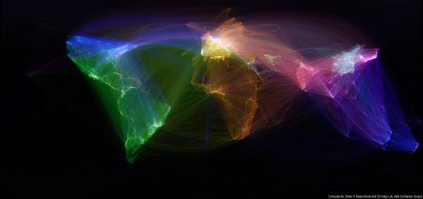 Map Of Scientific Collaboration Redux Olivier