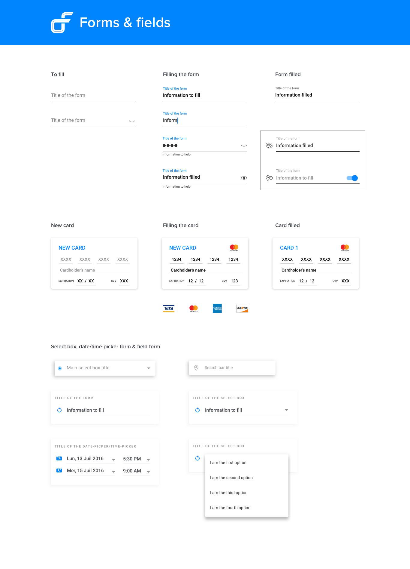 Design system - Composantes 1