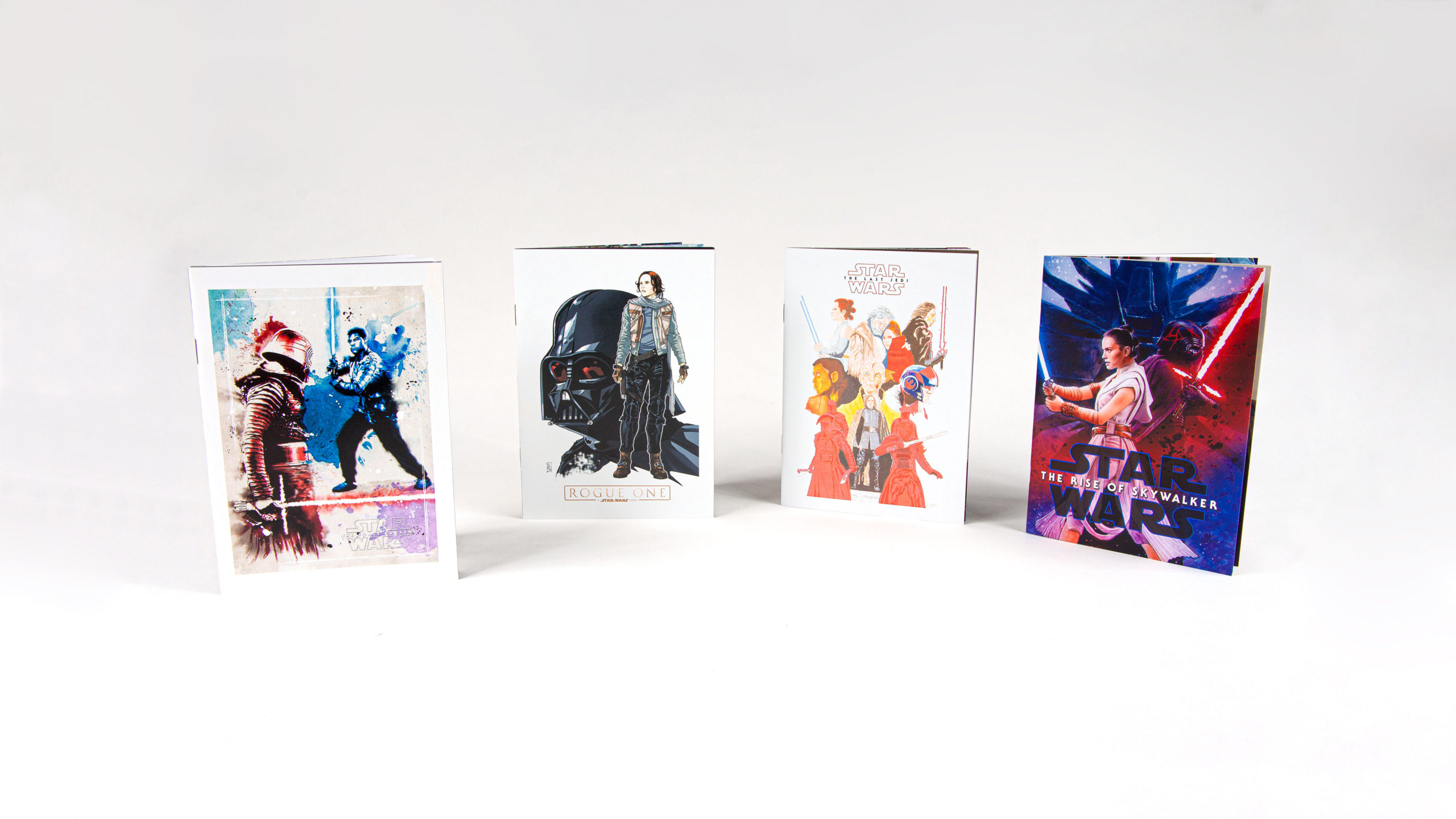 Star Wars - 4 couvertures