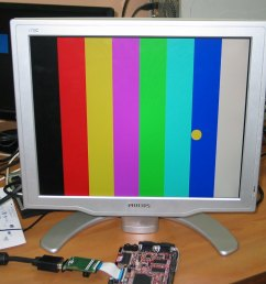 lcd to vga schematic images gallery [ 1308 x 1151 Pixel ]