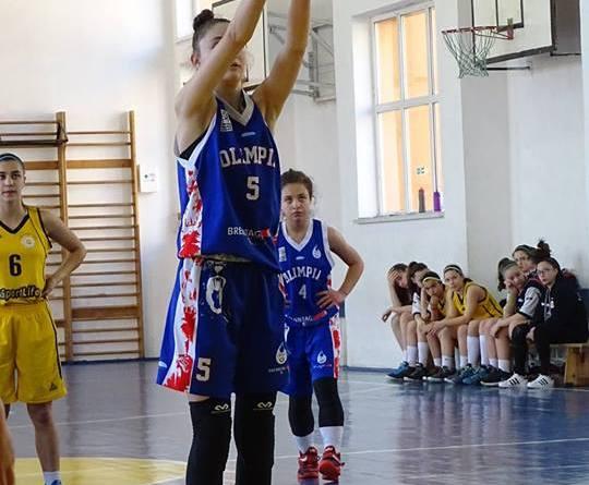 evelina - Titlu național la U16