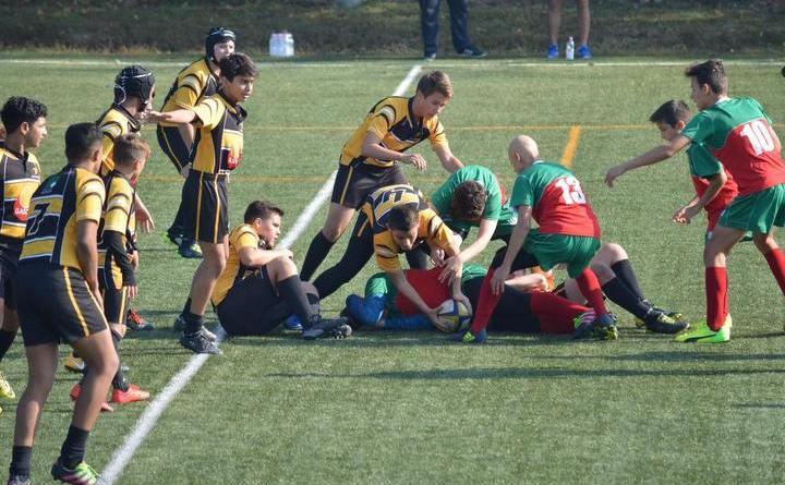 rrrr 1 - O victorie și un egal pentru cei mai mici rugbyști