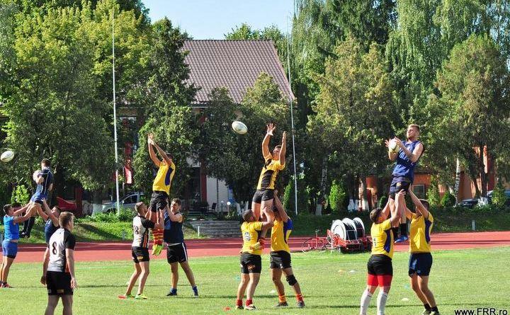 snagov - Trei rugbyști la lotul național