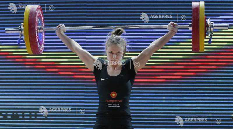 toma 1 - Șase medalii pentru Olimpia la Campionatele Europene de haltere