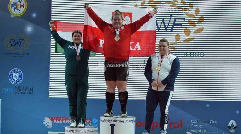 aanei - Andreea Aanei triplă medaliată la Campionatele Europene