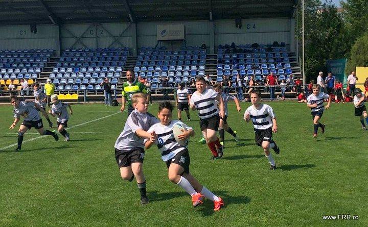 u10 - Rugbyștii mici pe podium