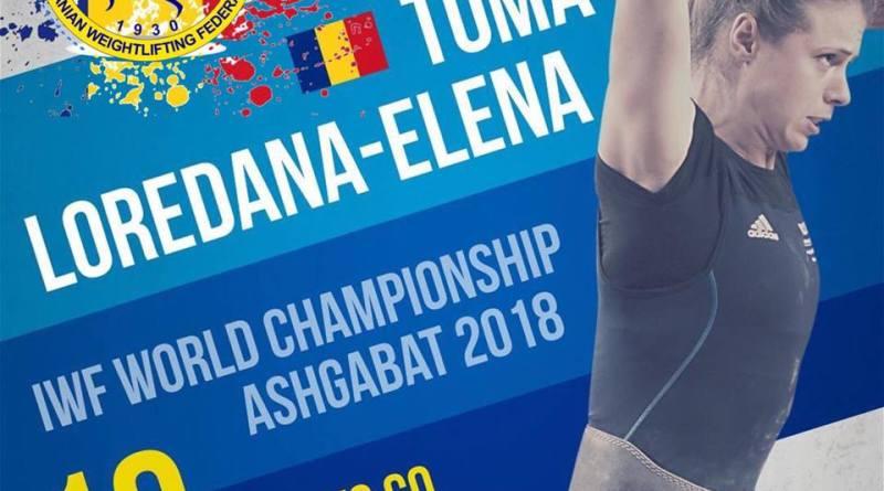 toma - Două halterofile la Campionatele Mondiale