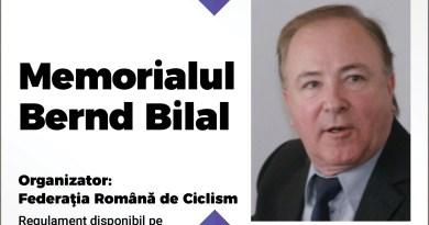 Cicliștii participă la Memorialul Bernd Bilal